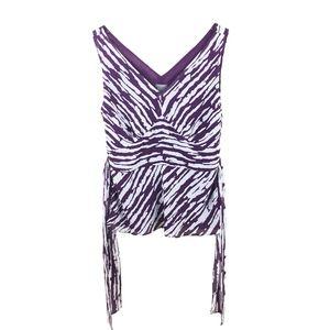 Ann Taylor Loft Zebra Print Top - 10 -